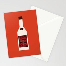 Bottle Mad Men Stationery Cards