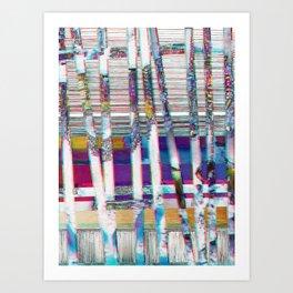 dust⁄l⁄i⁄n⁄e⁄s⁄jewels Art Print