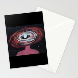 Galaxy Portrait 2 Stationery Cards