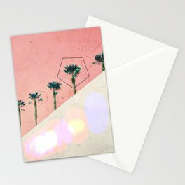 Levitated Mass (Red) Stationery Cards