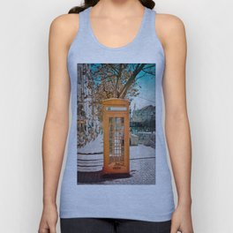 Phone booth Unisex Tank Top