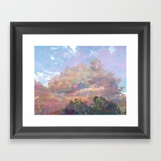 Beyond the Forest Framed Art Print