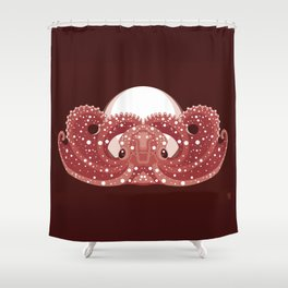 Sea Lord (Red) Shower Curtain