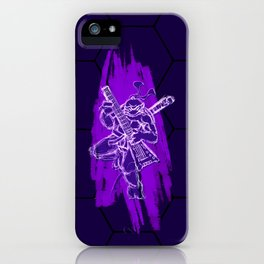 TMNT Rock: Don iPhone Case