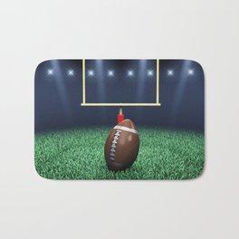 American Football stadium Bath Mat