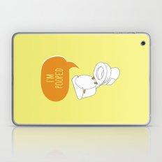 Toilet Pun Laptop & iPad Skin