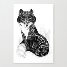 Wildlife Fox Canvas Print