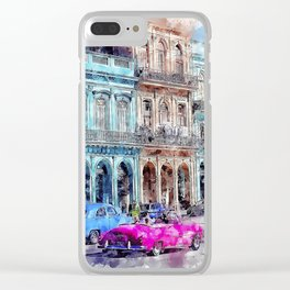 Architecture Travel City Clear iPhone Case
