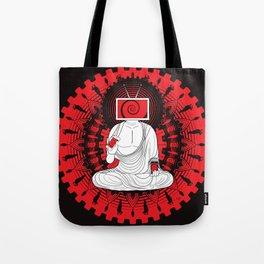 Manipulated Buddha Tote Bag