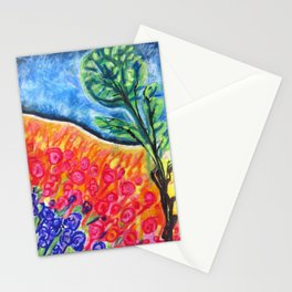 lollypop tree Stationery Cards