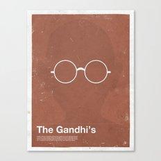 Framework - The Gandhi's Canvas Print