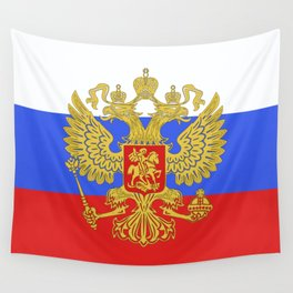 russian flag Wall Tapestry