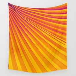 Pop Art Palm Frond Wall Tapestry