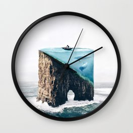 Mystical Island Wall Clock