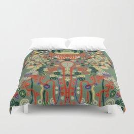 """Gustav Klimt """"Textile design - Model 8"""" Duvet Cover"""