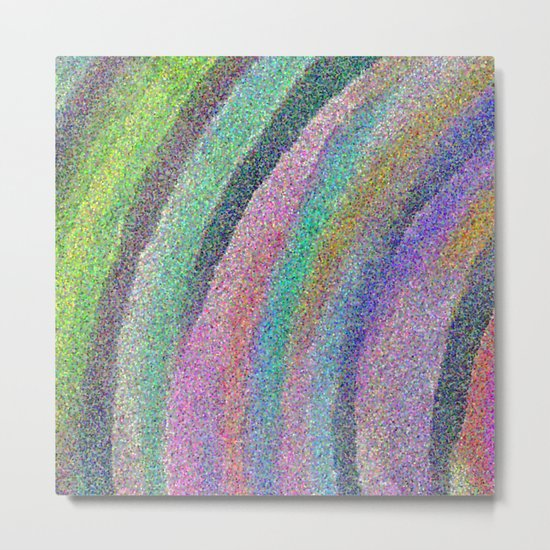 Color Arc Number Two Metal Print
