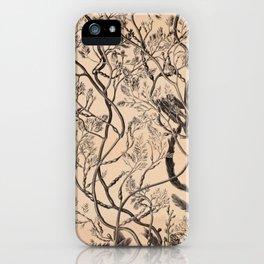 Naturalist Seaweed iPhone Case