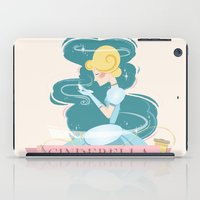 cinderella iPad Cases featuring Cinderella by LindseyCowley
