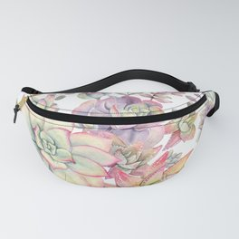 succulent watercolor 18 Fanny Pack
