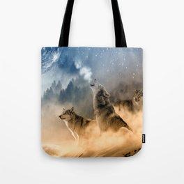 Moonrise Howl Tote Bag