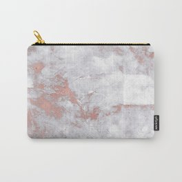 Marble Rose Gold - Lost Carry-All Pouch