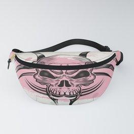 Skull tattoo design Fanny Pack