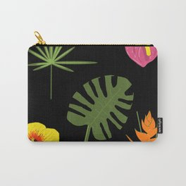 Jungle / Tropical Pattern Carry-All Pouch