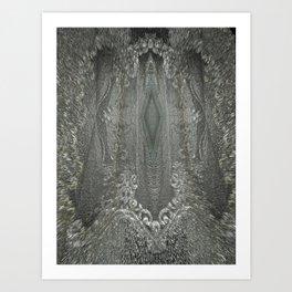 openwork ornament Art Print