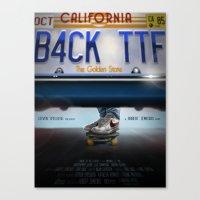 Back To The Future - Bruin Canvas Print