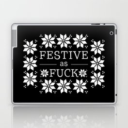 Festive as fuck Laptop & iPad Skin