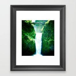 Multnoman falls, OR Framed Art Print