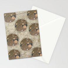 Honeybee Pattern Stationery Cards