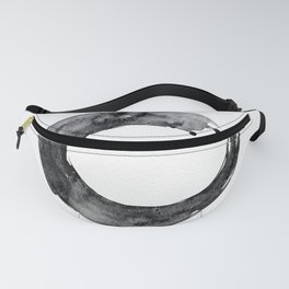 Enso Serenity No.12D by Kathy Morton Stanion Fanny Pack