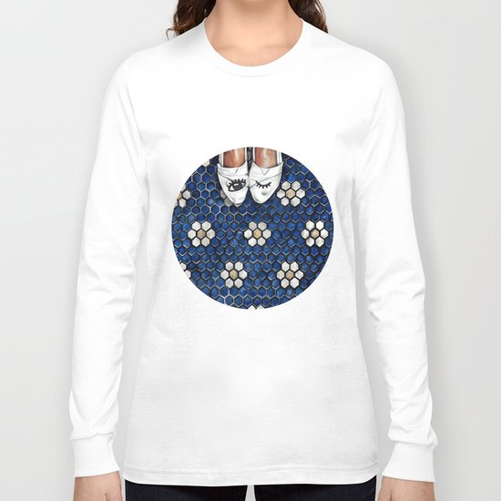 Art Beneath Our Feet Project - Grand Rapids Long Sleeve T-shirt
