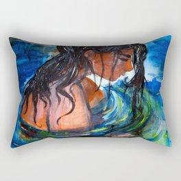 Baden Baden (Studies on Finnish Melancholy) Rectangular Pillow