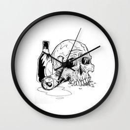 Skull Abuse  Wall Clock