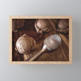 The Whole Scoop Framed Mini Art Print