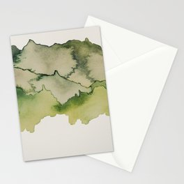 green mountains Stationery Cards