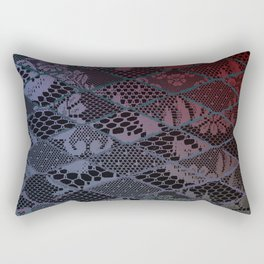 dark lace Rectangular Pillow