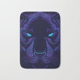 Aztec Panther Face Bath Mat