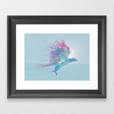 Turbulence Framed Art Print