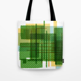 Abstract Geometric Dots Tote Bag
