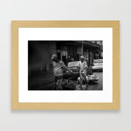 Waste Picker Survival Framed Art Print