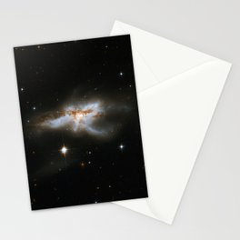 Hubble Space Telescope - Interacting Galaxies NGC 6240 (2008) Stationery Cards