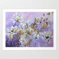 Floral spirit Art Print
