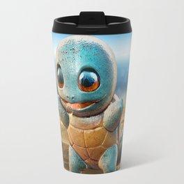 Realistic Squirtle Travel Mug
