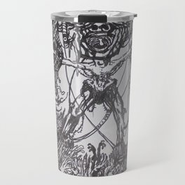 Lithe intention - Strained animation Travel Mug