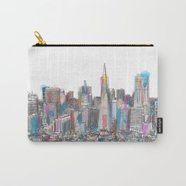 San Francisco Coit view Carry-All Pouch