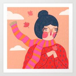 Autumn thoughts Art Print