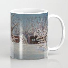 Winter Barn Coffee Mug